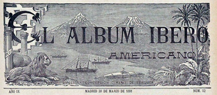 CabeceraElAlbumIberoAmericano_1891