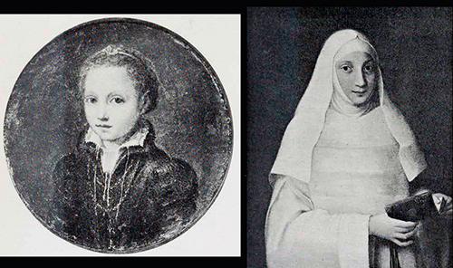 Europa y Lucía Anguissola. por Sofonisba Anguissola