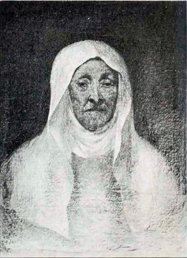 Retrato de Sofonisba Anguissola. Por Van Dick